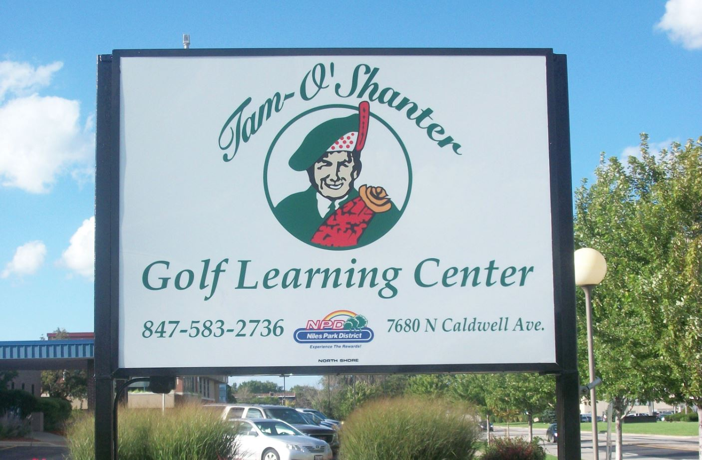 Learning Center Sign